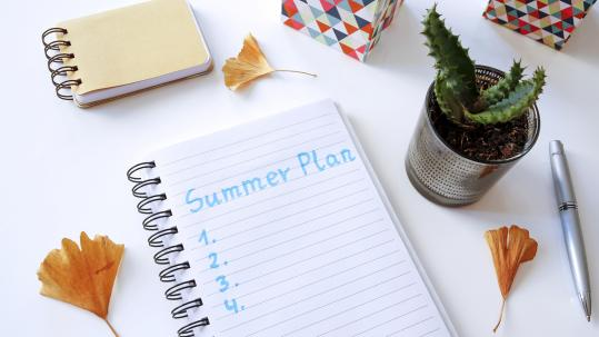 Implementing a College Application Summer Action Plan
